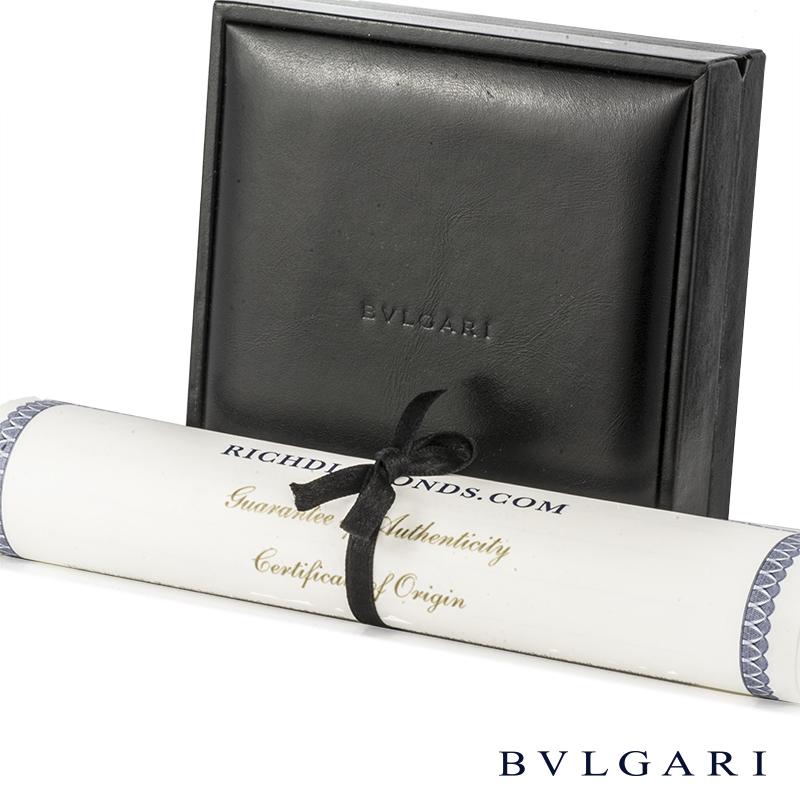 BvlgariWhite Gold Multi-Gemstone Allegra Pendant